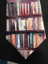 Men's Vivienne Westwood RARE Library Books 5.5'' Wide Tie, Very Striking