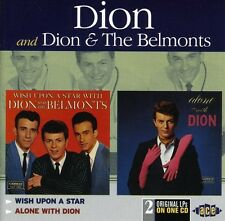 Dion, Dion & The Bel - Wish Upon a Star / Alone with Dion [New CD] UK - Impo