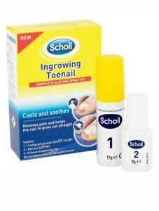 Scholl Ingrown Toenail Treatment Complete Clip and Spray Kit