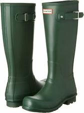 Hunter Women's Original Tall Rain Boots Green