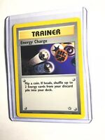 ENERGY CHARGE - Neo Genesis - 85/111 - Rare Trainer - Pokemon - Unlimited - NM