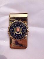 US Department Of Justice Federal Bureau Of InvestigationFBI Money Clip - US031
