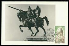 Genannt El Cid 1334-1337 Rodrigo Díaz De Vivar Spanien 1962 Postfrisch Minr