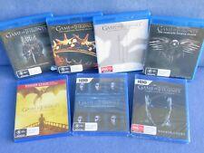 GAME OF THRONES COMPLETE SEASON 1 - 7 BLU RAY KIT HARRINGTON EMILIA CLARKE DVD 6