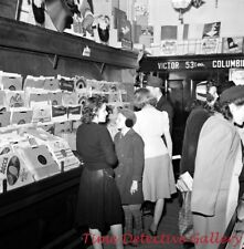 Shopping for Record Albums at Woolworths, Christmas 1940 - Historic Photo Print