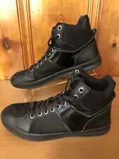 Guess Men's High Top Athletic Sneakers Style GMTrippy Size 10.5M/11.5M Black