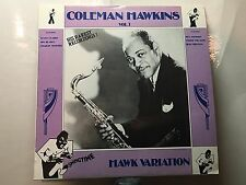 "COLEMAN HAWKINS - Hawk Variation Vol. 1 ~ SWINGTIME 1004 {nm} w/Erick ""Skippy"""