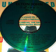 Elton John Live Vol. 3 CD Rare I'm Still Standing Tiny Dancer The One Daniel