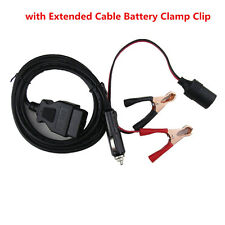 Car Computer ECU Memory Saver Battery OBD2 Replace Tools 3M Extended Cable Clip