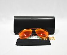NIB Yves Saint Laurent YSL red mirror aviator frame sunglasses Unisex