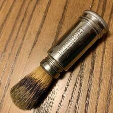 New ListingVtg Rubberset Travel Container Shaving Cream Brush badger hair straight razor