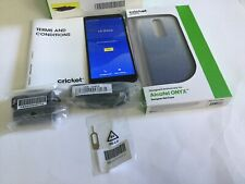 Alcatel Onyx Smartphone Cricket Black Android Phone With FREE Screen Protection.