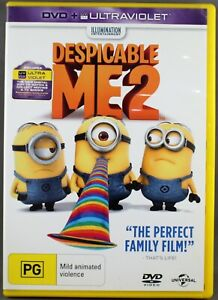 """DESPICABLE ME 2 (DVD: 2019) BRAND NEW / SEALED """"REGION 4"""""""