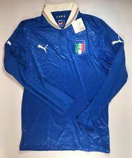 Italy Italia 2012-13 Puma Long Sleeve Home Jersey Maglia Size XL NWT