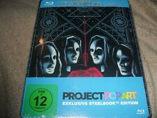 The Da Vinci Code (2006) Rare All Region Pop Art New Steelbook Blu-ray