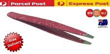 HT Stainless Steel EyeBrow Tweezer Plucker/Puller Slanted Tip Brand New