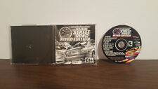 Midnight Outlaw: Illegal Street Drag -- Nitro Edition (PC, 2003) Disc & manual