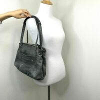 B. Makowsky Handbag Shoulder Carry Bag Hobo Leather Purse Animal Print Lined