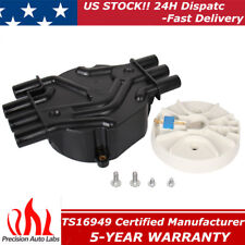 DR475 10452458 Ignition Distributor CAP Rotor for Chevy GMC Oldsmobile V6 D328A