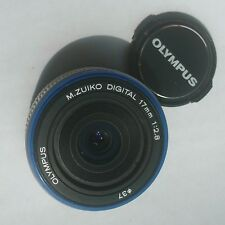 Olympus M.Zuiko Digital 17mm f2.8 Wide Angle lens Micro Four Thirds Panasonic