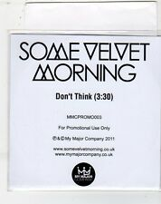 (ET232) Some Velvet Morning, Don't Think - 2011 DJ CD