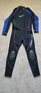 Neosport Men's Wetsuit Large 3/2 mil Blue/Black