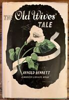 Modern Library Edition The Old Wives' Tale Pub 1911 Arnold Bennett no.184 HC/DJ