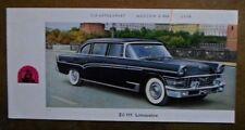 ZIL 111 Limousine ORIG 1960 S Petit Format des ventes brochure-ZIM ZIS 3NA URSS