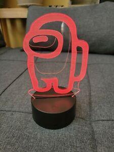 Among Us Acrylic Desk Lamp/Night Light, LED, 8+ Colors