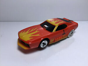 TYCO PRO MUSTANG~~ Clean~ Runs Great~ Use on Aurora Model Motoring AFX HO~L@@K