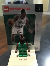 LEGO NBA Basketball Paul Pierce #34 Celtics Mini Figure Authentic W Card