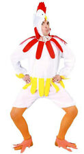 Mens Very Silly Chicken Hen Costume Stag Night Bird Farm Fancy Dress Outfit