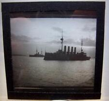 Magic Lantern Slide   - Ship Shipping Maritime Naval