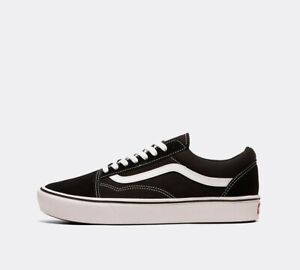 Mens Vans Old Skool Comfycush Black Trainers (PF1) RRP £69.99