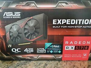 ASUS Expedition Radeon RX570 4GB OC Edition