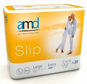 amd Slip incontinence Pant Pad Large 100-160cm Extra Absorbent