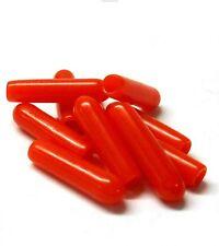 RUBBER Antenna Ricevente Ricevitore Antenna Tubo di Caps Cappello Rosso x 10