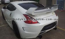 Z34 370z fairlady amuse style wing spoiler + carbon fiber blade-gt varis voltex