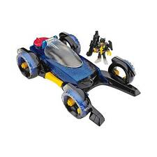 Fisher- Imaginext DC Super Friends Transforming Batmobile CLP22
