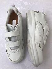 Men's Apex Comfort Shoes Size 12 Walking Sneakers White Strap Ambulator Walker