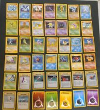 POKEMON FIRST EDITION BASE SET -SET (INCOMPLETE 42x CARDS) FRENCH (FRANCAISE)