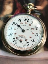 DONALDO POCKET WATCH SIZE 18 SWiSS 21 JEWELS GOLD FILLED RARE HARD TO FIND