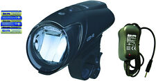 B&M LED-Frontlampe IXON IQ 192, Fahrad-Scheinwerfer, Akku-/Batteriebetrieb 40LUX