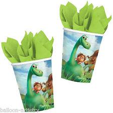 8 Disney's The Good Dinosauro MOVIE Festa di Compleanno Carta 9oz Bicchieri