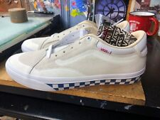 Vans TNT Advanced Prototype (Checkerboard) Marshmallow  US 10 Men VN0A3TJXKAG