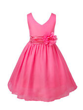 Baby Sequins Tutu Dress Flower Girl Princess Wedding  Birthday Formal Dress Gown