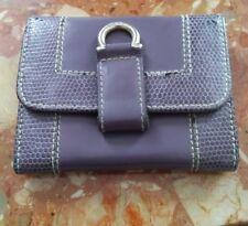 Porte monnaie violet LANCEL  !!!
