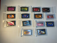 *NEW* LOT OF 14 NINTENDO GAMEBOY ADVANCE GAMES AGES 3-18