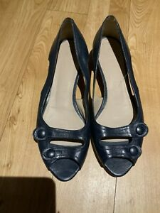 Ladies Baltarini Blue Slip On  Shoes Size 7 Eur 40