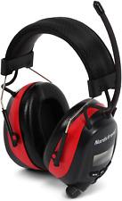 Nordstrand NRR 25dB Gehörschutz Ohrenschützer Kapsel mit Radio und SmartPhone